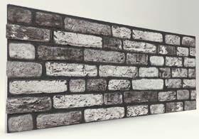 Karadeniz 120 Lik Tuğla Desenli Strafor Duvar Paneli