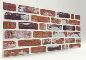 Balat Tuğla Desenli Strafor Duvar Paneli