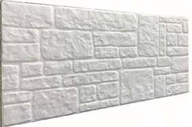Söve Kaplamalı Taş Desenli Strafor Duvar Paneli