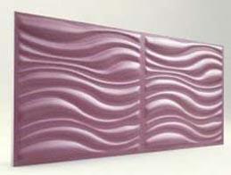 Dalga Desenli-Lila 3D Xps Panel