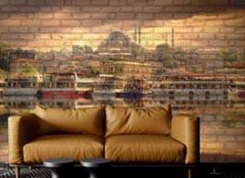 Sultanahmet Resim Baskılı Panel