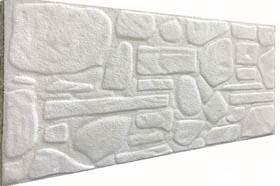 Söve Kaplamalı Doğal Taş Desenli Strafor Duvar Paneli