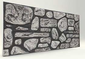 Damarlı Doğal Taş Desenli Strafor Duvar Paneli