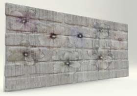 Flower Tuğla Desenli Strafor Duvar Paneli