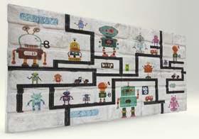 Harita Tuğla Desenli Strafor Duvar Paneli