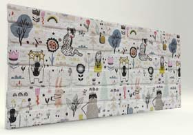 Karma Tuğla Desenli Strafor Duvar Paneli