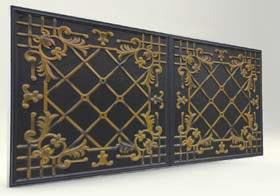 Sümbül Black Casablanca Serisi Duvar Ve Tavan Paneli
