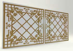 Sümbül White Casablanca Serisi Duvar Ve Tavan Panel
