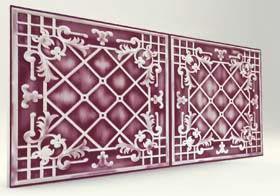 Sümbül Purple Casablanca Serisi Duvar Ve Tavan Panel
