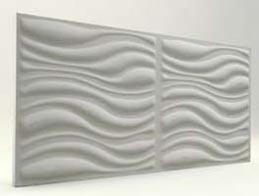 Dalga Desenli-Mat Boyasız 3D Xps Panel