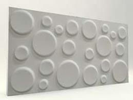 Elips Desenli-Mat Boyasız 3D Xps Panel