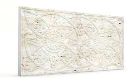 Güneş Kirli Beyaz Oymalı Mermer Panel