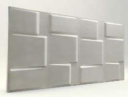 Kare Desenli-İnci Beyaz 3D Xps Panel