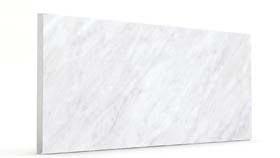 Düz İnci Beyaz Mermer&Ahşap Panel