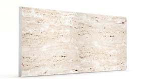 Düz Kirli Beyaz Mermer&Ahşap Panel