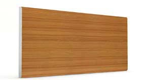 Düz Sarı Mermer&Ahşap Panel