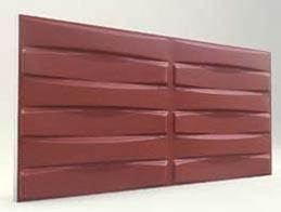 Örgü Desenli-Bordo 3D Xps Panel