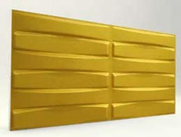 Örgü Desenli-Gold 3D Xps Panel