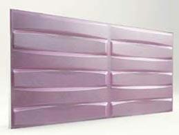 Örgü Desenli-Lila 3D Xps Panel