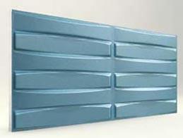 Örgü Desenli-Turkuaz 3D Xps Panel