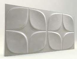 Papatya Desenli-İinci Beyaz 3D Xps Panel