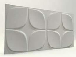 Papatya Desenli-Mat Boyasız 3D Xps Panel