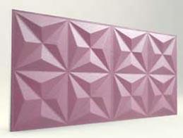 Piramit Desenli-Lila 3D Xps Panel
