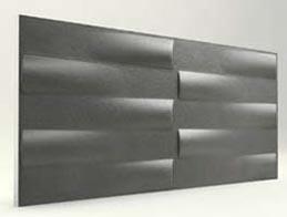 Simetri Desenli-Antrasit 3D Xps Panel