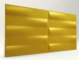 Simetri Desenli-Gold 3D Xps Panel