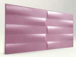Simetri Desenli-Lila 3D Xps Panel